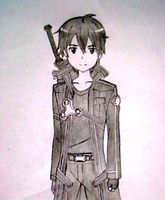 Kirito (Sword Art Online) by IkezuCyph