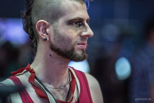 Vaas Montenegro Cosplay (close-up) by StevenCojo