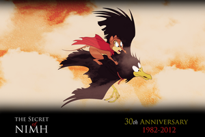 NIMH: 30th Anniversary Tribute #2 by WhiteLionWarrior