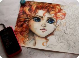 Merida wip by Telemaniakk