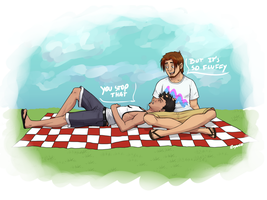 A Jarrod and Simon Picnic by reaper600
