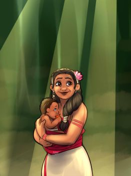 Moana - New Shores - Chapter 15: Sina and Kaiko by Odme1