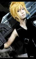 FinalFantasyVIIAC_Cloud Strife by ikumi00