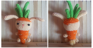 Carrot Bunny by oddSpaceball