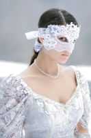 Lace Face 3 quarter view by eyefeather-stock