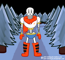 Papyrus [Undertale] by JEEP-WRANGL3R