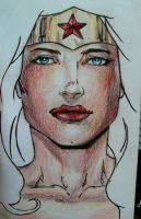 Wonder woman in color by morgoththeone