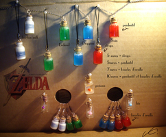 Zelda bottle for christmas! For French only by Zita52