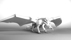 Itzamna 3D creature by Jfboards24