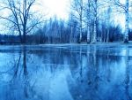 On the Ice - Blue by hellie-stock