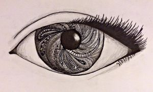 Doodle Eye by Mielzy