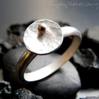 Skipping Rock Ring in SS etc. by che4u