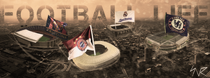 Cover for a Facebook page | Football life by snrdesigns