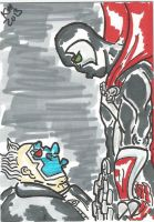 Spawn and Clown by kylemulsow