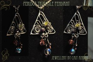 Peridot Amethyst Pendant by tanyquil