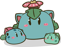 Dangos Bulbasaur by ChershireHatter