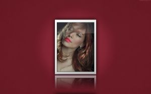 Hilary Duff - Red by icHRis83
