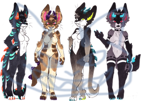 Female.Neutral.Dinodogs.ADOPT.AUCTION:CLOSED::..+ by Uriko44