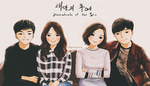 Descendants of the Sun casts by ririss