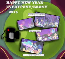 NEW YEAR IN CANTERLOT by djjafeth