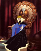 Enthroned Wickedness by snowsowhite