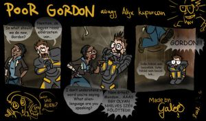 Poor Gordon by GalooGameLady