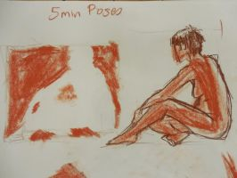 Nude Study (2) : Positives and Negatives by ShanBrath