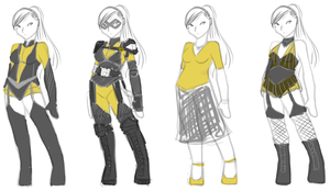 junk - silk spectre + redesign by obliviousally