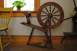 spinning wheel 1 by LucieG-Stock