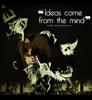 Ideas Come From The Mind. by CHANELGoo