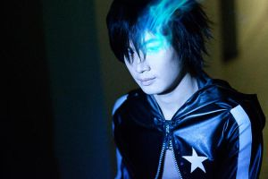 Kaito - Blue flame by updaterequired