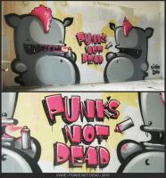 Punks Not Dead by KIWIE-FAT-MONSTER