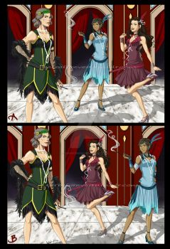 WIP - Legend of Korra Flappers by TerraForever