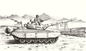 Bored Tankistov by AngusMcLeod