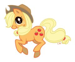 Applejack by ChloeNArt