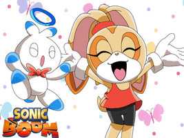 .:Sonic Boom! My versions:. Cream and Cheese by XxTailsyTailsxX