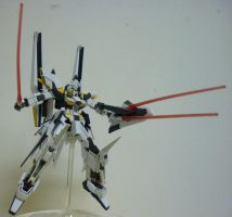 HGUC MSN-001X Delta Kai Gundam by Johnny-E