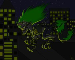 From The Rooftops by DaBigBadWulf