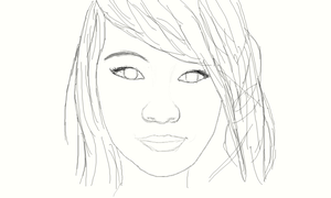 .:My first real human drawing:. by Jaycee-the-DJ-girl