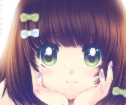- Green Eyes - by toi-chan