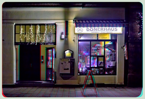 Doener-Haus 3D ::: DRi Anaglyph Stereoscopy by zour