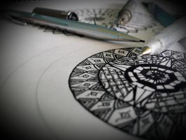 making some mandalas by Darkranel