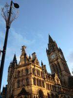Manchester City Hall by freespirit2606
