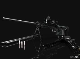 BENoe.P82.F4A 15MM CDD ANTI-MATERIEL RIFLE by b-e-noe