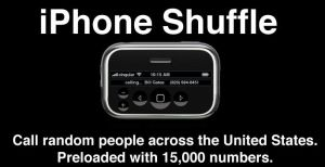 iPhone Shuffle by 0PT1C5