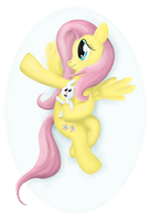 Fluttershy's Little Angel by 041744