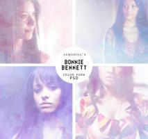 Bonnie Bennett/TVD Color Porn PSD by Lady-Asmodina
