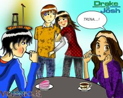 Drake Josh Party with Victorious by lucastl