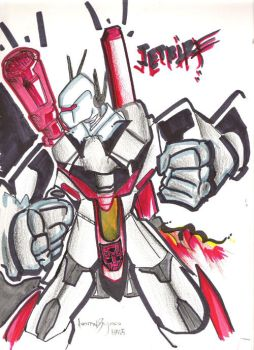 Transformers Jetfire by aNdr0M3cHa0Z