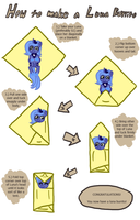 How to make a Luna Burrito by FicFicPonyFic